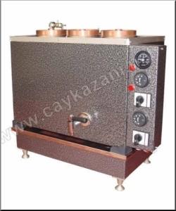 Dörtlü Elektrikli Çay Kazanı 40 litre