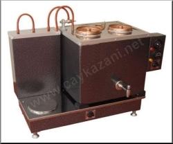 Pleytli Elektrikli Çay Kazanı: Statik Boyalı İki Demlikli Çay Kazanları
