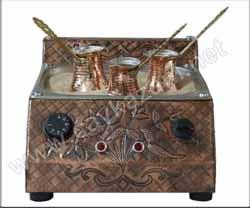 Kumda Kahve Pisirme Makinası