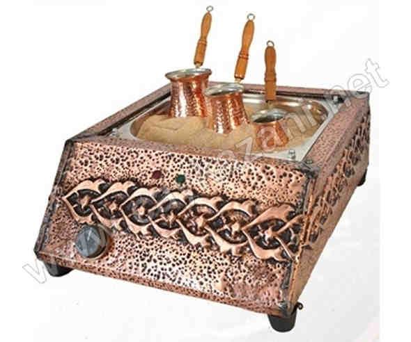 Kumda Kahve Makinası